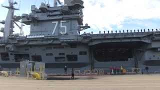 Norfolk (VA) United States  city images : USS Harry S. Truman (CVN 75) deploys from Norfolk, Va.