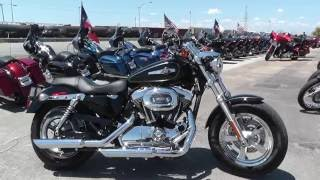9. 416574 - 2013 Harley Davidson Sportster 1200 Custom XL1200C - Used motorcycles for sale