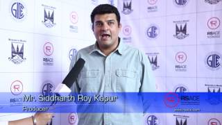 Siddharth Roy Kapur Speaks About RSACE
