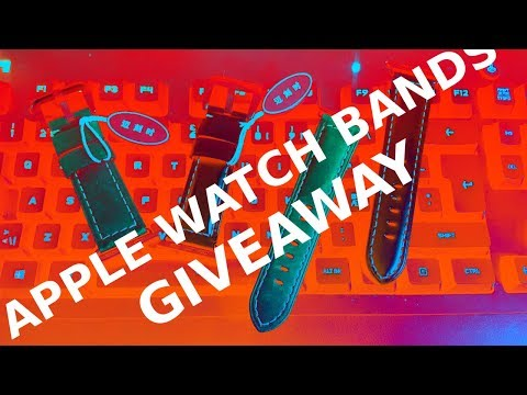 Apple Watch Bands GIVEAWAY