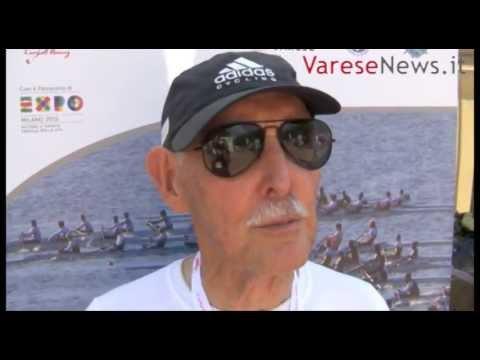 Charles il canottiere più vecchio del mondo