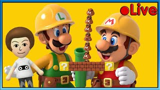 Mario Maker 2 - Playing The Best Levels - • Live