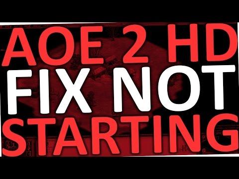Age of Empires 2 HD won't Start (Steam Fix - AOE 2 HD )