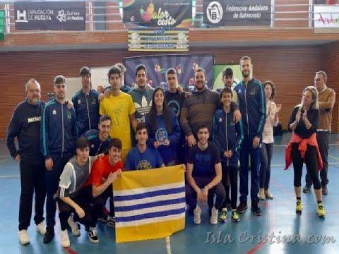 Entrega de Trofeos Fase Final Liga Provincial de Basket, celebrada en Isla Cristina