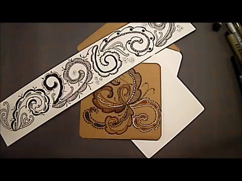 "How to draw Tangle Pattern ""Fricle"" with Melinda Barlow, CZT"