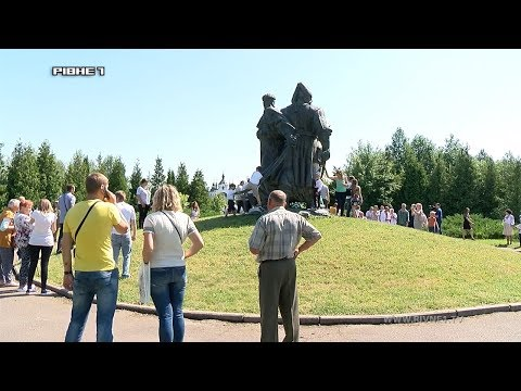 Патріоти з Рівненщини вшанували пам'ять полеглих під Берестечком козаків [ВІДЕО]