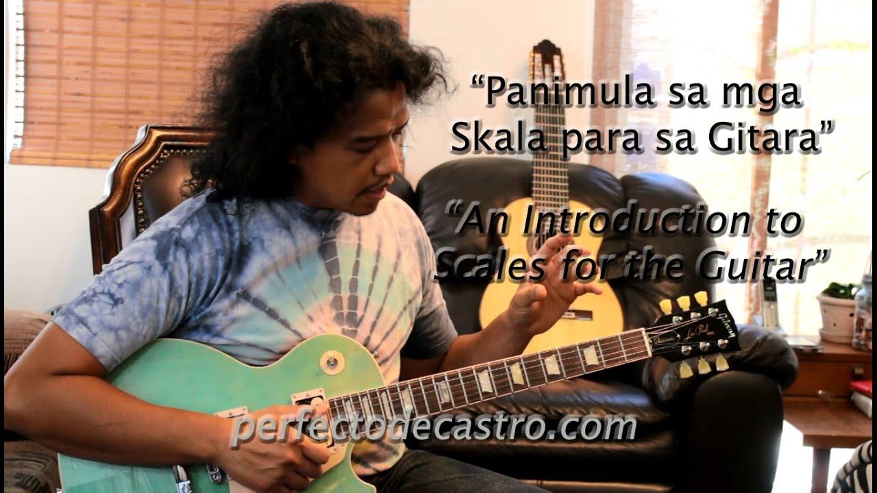 PDC-TV: Panimula sa mga Skala para sa Gitara (Filipino with English subtitles)