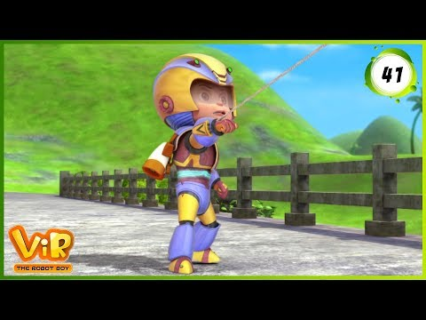 Vir: The Robot Boy | The Lizard Man | Action cartoons for Kids | 3D cartoons