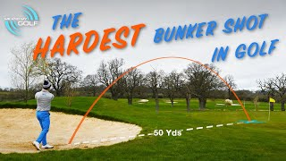 HOW TO PLAY THE HARDEST BUNKER SHOT IN GOLF | ME AND MY GOLF