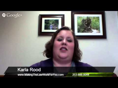 Local Marketing Help for a Puyallup Business Law Attorney Law Office of Karla E. Rood