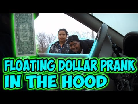 Learn the Floating Dollar Prank