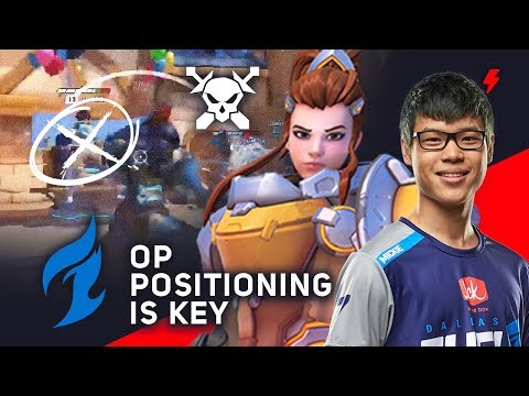 Pro Brigitte Positioning - Mickie's Trick to Carrying Dallas Fuel in Overwatch League