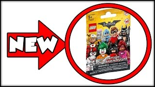 New  Lego Batman Movie   New Poster  Packaging For Minifigs