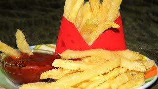 Crispy & Instant French Fries (Mc Donald's) Easy Recipe Of Potato French Fries - By Food Connection