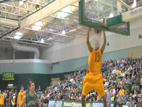 Jason Adams with the 360 dunk - Special thanks to KODE-TV