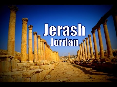 Visiting Jerash in Jordan