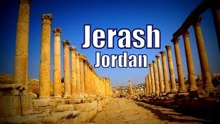 Jerash Jordan  City new picture : Visiting Jerash, Jordan Travel Video (Gerasa of Antiquity - Γέρασα - محافظة جرش)