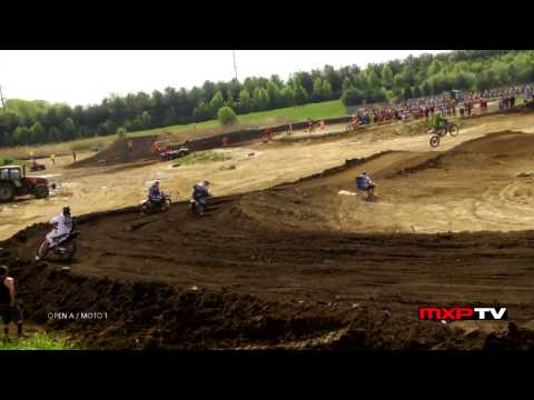 MXPTV - It's time for the intense racing action of the 250 and Open A / B classes from Sunday's program at Blue Diamond MX in New Castle, DE. 1st motos only shown fo...