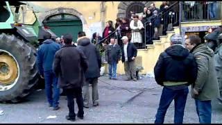 Campagnano Di Roma Italy  city photos gallery : SAME TITAN 145 VS AGRIFULL....STRAPPACATENE SANT'ANTONIO ABATE CAMPAGNANO DI ROMA