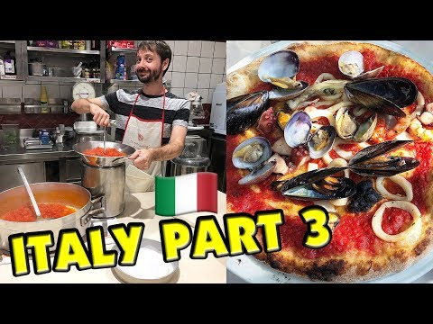Italy! Sorrento, Positano Cooking Class And A Beautiful Family Farewell | Italy Vlog 3
