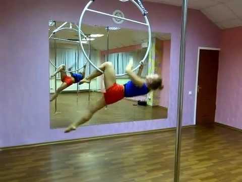 Занятие на воздушном кольце в студии танцев NOVA г. Чебоксары/г. Новочебоксарск