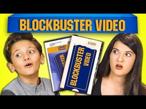 KIDS REACT TO BLOCKBUSTER VIDEO