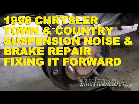 1998 Chrysler Town & Country Suspension Noise & Brake Repair -Fixing it Forward