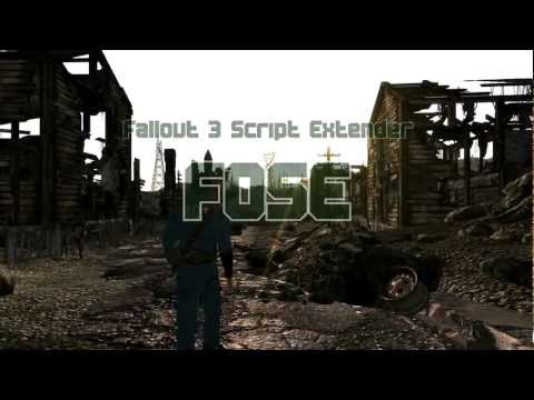 Fallout 3 Script Extender : FOSE (Installing and using)