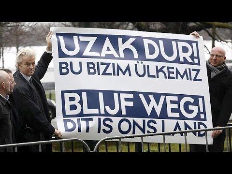 Στο κόκκινο η ένταση Τουρκίας – Ολλανδίας