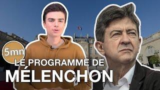 Video LE PROGRAMME DE MÉLENCHON - 5 minutes pour décrypter MP3, 3GP, MP4, WEBM, AVI, FLV Juni 2017