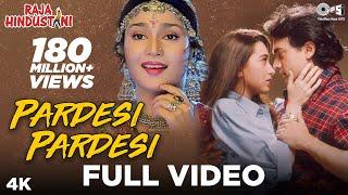 Video Pardesi Pardesi - Raja Hindustani | Aamir Khan, Karisma Kapoor | Udit Narayan, Alka Yagnik MP3, 3GP, MP4, WEBM, AVI, FLV September 2018