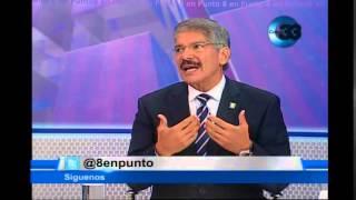 8 en punto Entrevista Alcalde Norman Quijano