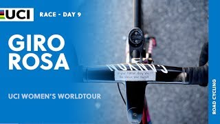Watch the full highlights of stage 9 from the Giro Rosa, part of the 2017 UCI Women's WorldTour.  Read more at: http://www.uci.ch/road/ucievents/2017-road-uci-women%E2%80%99s-worldtour/132712217/   Follow us on Twitter @UCI_WWT and #UCIWWT