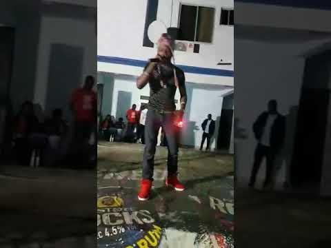 Khing Popzzy Rocks The Stage At Anloga At Agaji Release Concert