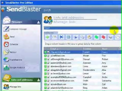 How To Set Up Send Blaster