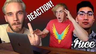 Video REACTING TO PEWDIEPIE & RICEGUM'S ROASTS ON MY BROTHER! MP3, 3GP, MP4, WEBM, AVI, FLV Desember 2017