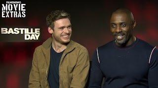 Idris Elba & Richard Madden talk about Bastille Day (2016)