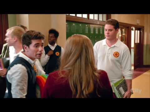 Starting LGBT student Club #2  - The Real O'Neals (tv series)