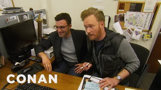 Video Conan Staffers' Parents Give Tips On Improving The Show - CONAN on TBS MP3, 3GP, MP4, WEBM, AVI, FLV Juli 2019