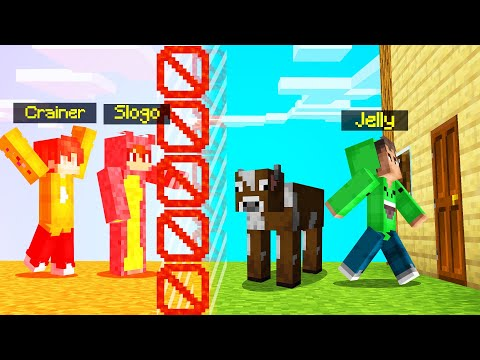 I BANNED My Best Friends In MINECRAFT SURVIVAL!