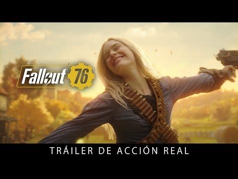 El videojuego Fallout 76 se muestra en un tráiler de acción real