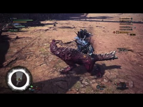Most Hilarious Mount in Monster Hunter History (видео)