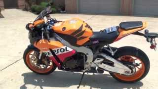 7. HD VIDEO 2013 HONDA CBR 1000 RR REPSOL EDITION ORANGE USED NEW MOTORCYCLE FOR SALE SEE WWW SUNSETMIL