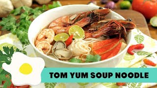 Video Resep Tom Yum Soup Noodle MP3, 3GP, MP4, WEBM, AVI, FLV Oktober 2018