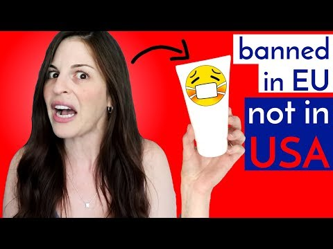 Dangerous Ingredients Banned in Germany, Okay in USA
