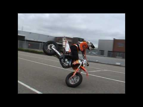 KTM Supermotard Stuntrider Wheely-Boy 2010
