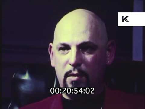 Late 1970s Early 1980s Interview with Anton LaVey, Occult, Satanist