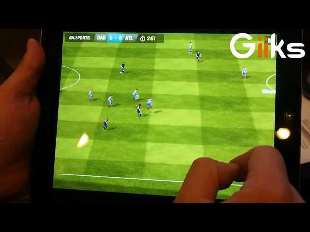 Gameplay FIFA 14 iPad (E3 2013)
