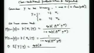Mod-01 Lec-35 Discriminant Analysis And Classification