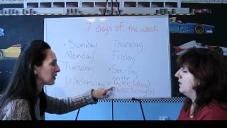 Lesson 42 - Weekday And Weekend - Learn English With Jennifer